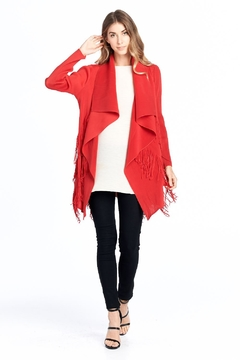 Nabisplace Pleated Chipostring Cardigan - Product List Image