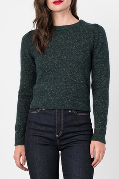 Margaret O'Leary Pleated Crew Neck - Product List Image