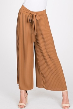 Ces Femme Pleated Cropped Pant - Product List Image