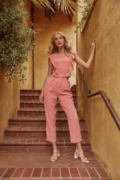 Sugarlips Pleated Cropped Trousers - Alternate List Image