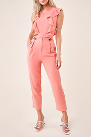 Sugarlips Pleated Cropped Trousers - Product Mini Image