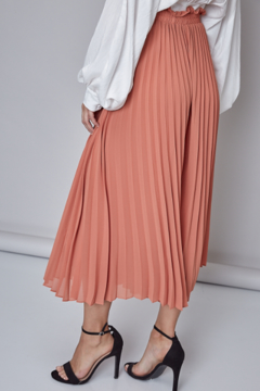 Do & Be Pleated culotte - Alternate List Image