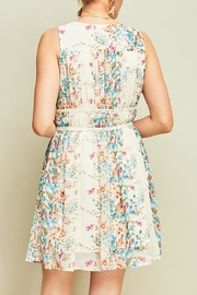 Entro Pleated Floral Dress - Other