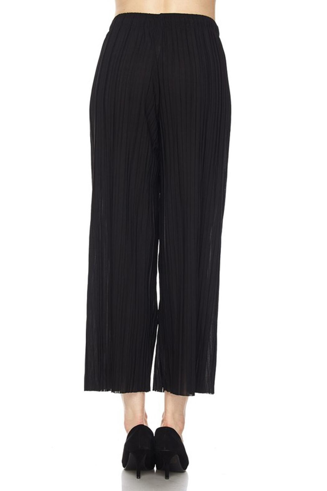 New Mix Pleated Gaucho - Side Cropped Image