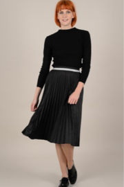 Molly Bracken Pleated Iridescent Skirt - Front cropped