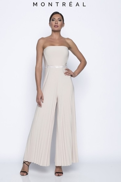 Shoptiques Product: Pleated Leg Jumpsuit