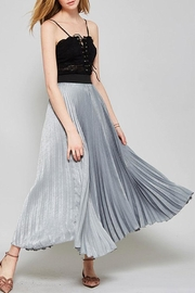 Promesa USA Pleated Maxi Skirt - Product Mini Image