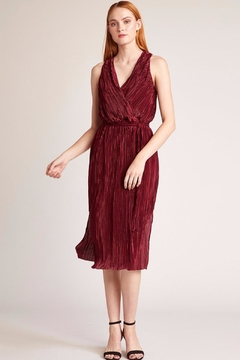 Shoptiques Product: Pleated Midi Dress