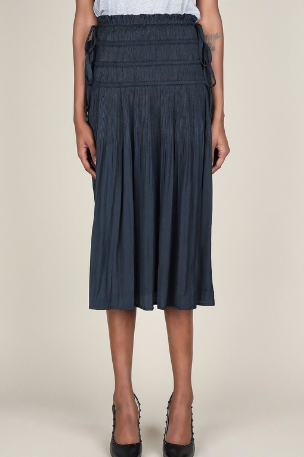 Current Air Pleated Midi Skirt - Front Full Image