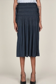 Current Air Pleated Midi Skirt - Front full body
