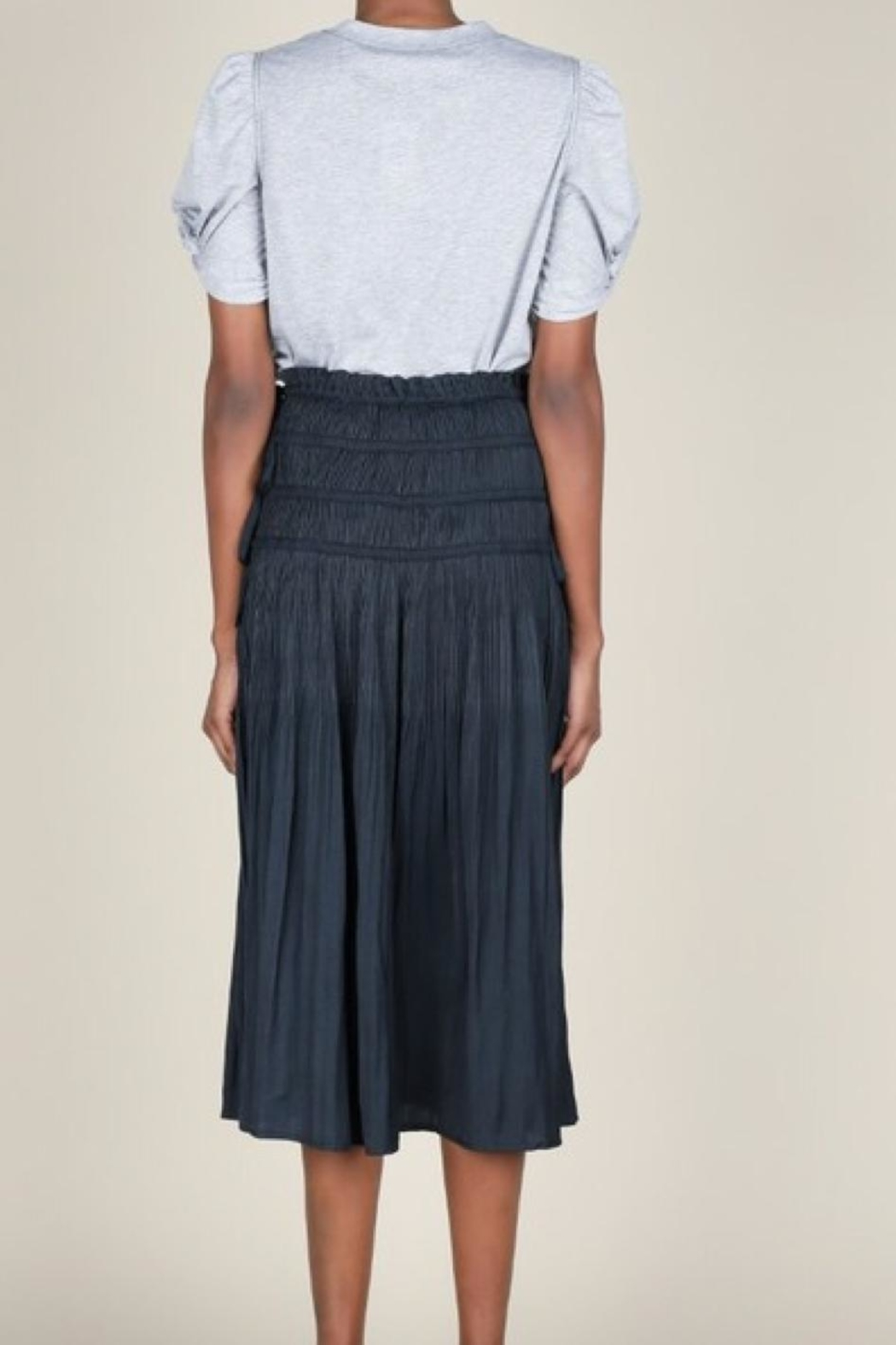 Current Air Pleated Midi Skirt - Side Cropped Image