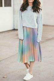 R+D emporium  Pleated Midi Skirt - Product Mini Image