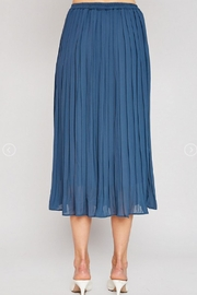 Hayden Los Angeles Pleated Midi Skirt - Front full body