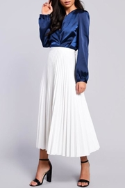 Glamorous Pleated Midi Skirt - Product Mini Image