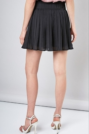 Do & Be Pleated Mini Skirt - Side cropped