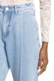 English Factory Pleated Mom Jeans - Product Mini Image