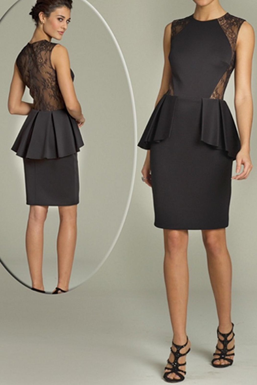 0dd22f62e892 Jovani Pleated Peplum Dress from Guilford by A's Unique Boutique ...