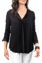 Lola & Sophie Pleated Pintuck Front Top - Product Mini Image