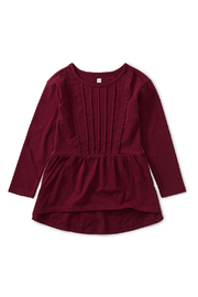 Tea Collection Pleated Pintuck Top - Front cropped