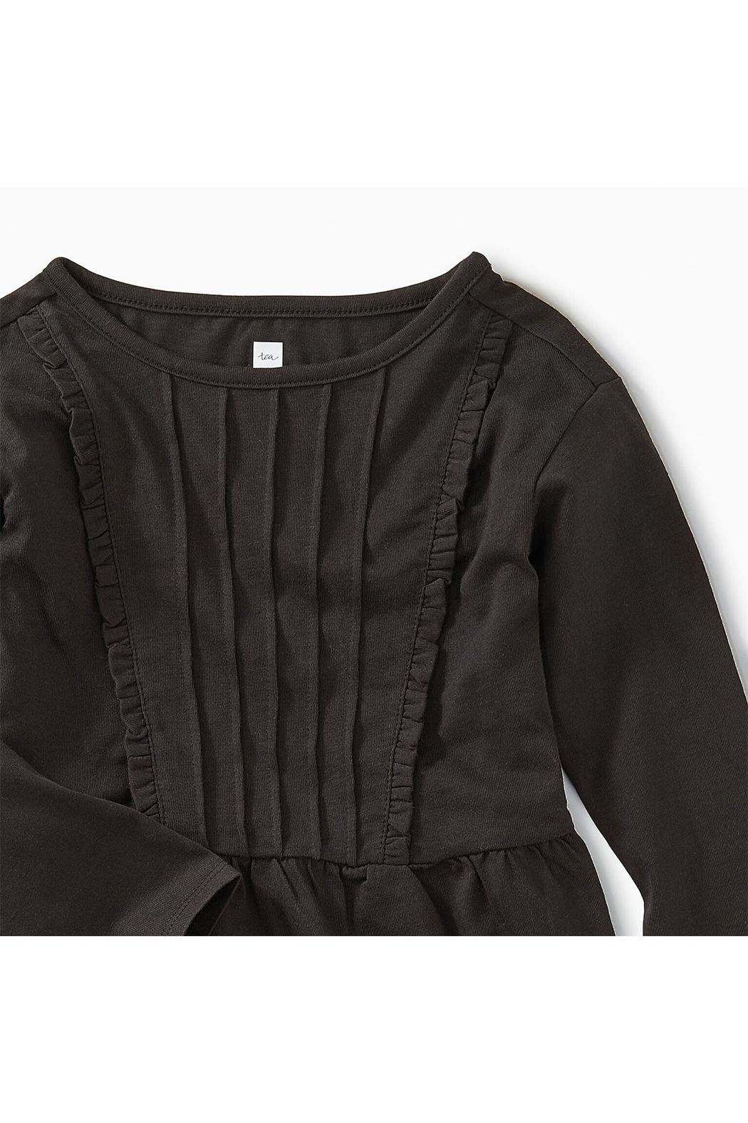 Tea Collection Pleated Pintuck Top - Front Full Image