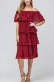 Entro Pleated Please dress - Product Mini Image