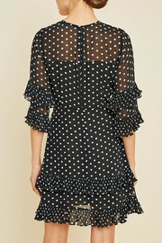 Hayden Los Angeles Pleated Polka-Dot Ruffle-Shift-Dress - Other