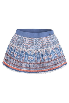 Shoptiques Product: Pleated Printed Skirt