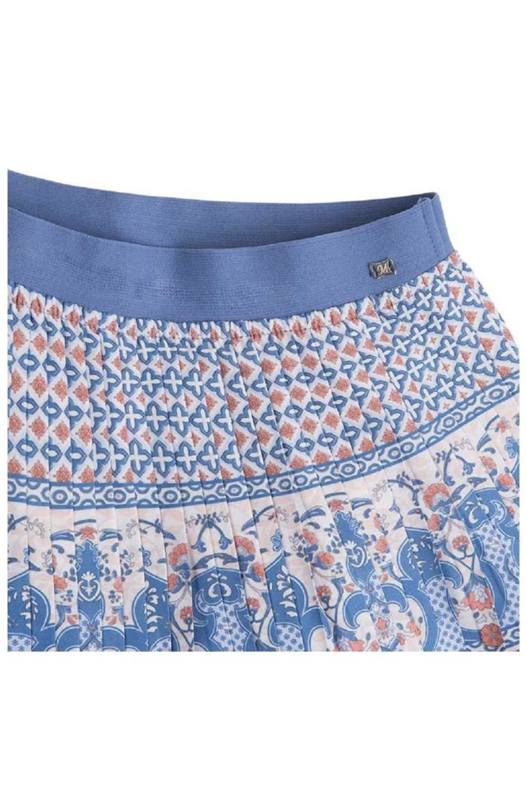 Mayoral Pleated Printed Skirt - Side Cropped Image