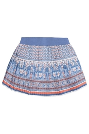 Mayoral Pleated Printed Skirt - Front full body