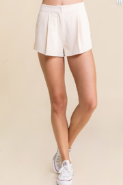Skylar Rose Pleated Shorts - Product Mini Image