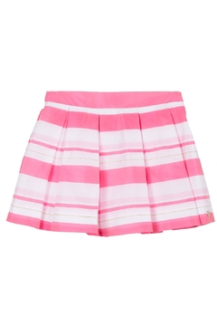 Shoptiques Product: Pleated Stripe Skirt