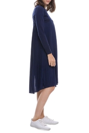 English Factory Pleated Sweater Dress - Front full body