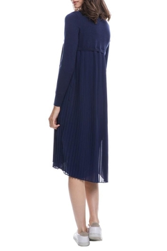 English Factory Pleated Sweater Dress - Alternate List Image