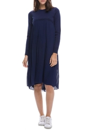 English Factory Pleated Sweater Dress - Product Mini Image