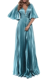 Tarik Ediz Pleated Tango Gown - Product Mini Image