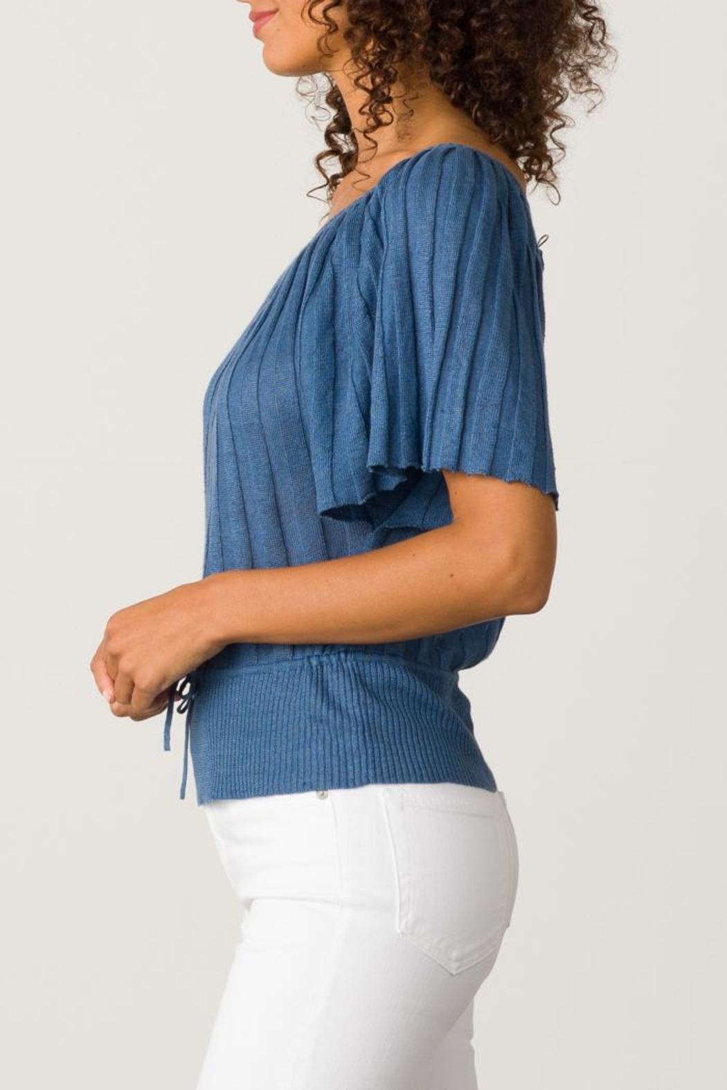 Margaret O'Leary Pleated Top - Front Full Image