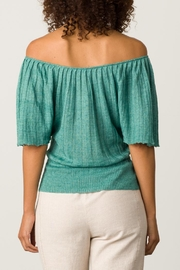 Margaret O'Leary Pleated Top - Side cropped
