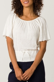 Margaret O'Leary Pleated Top - Front full body