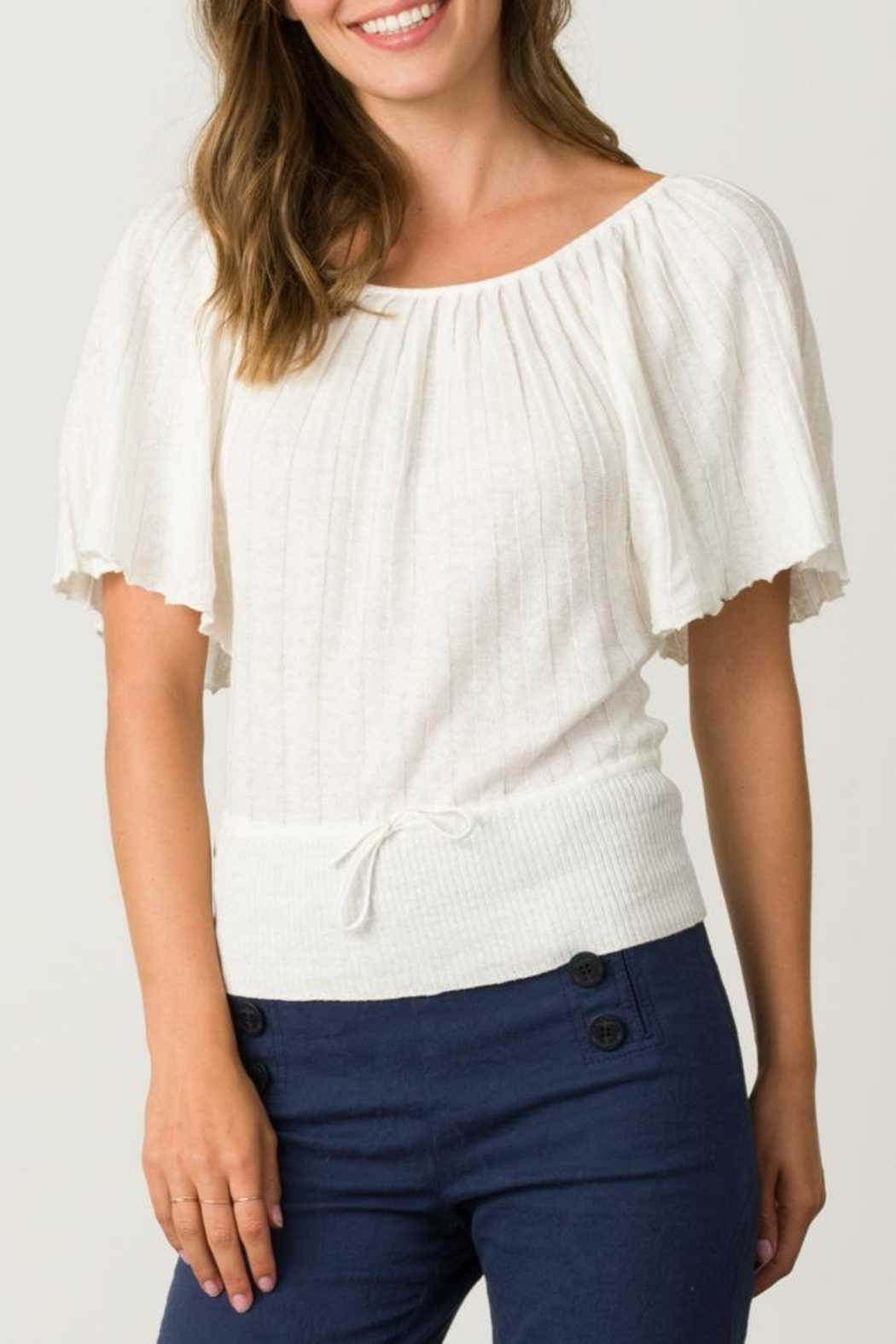 Margaret O'Leary Pleated Top - Main Image