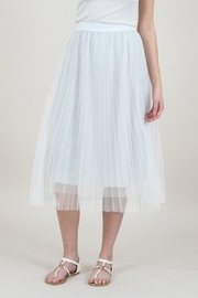 Molly Bracken Pleated Tulle Skirt - Product Mini Image