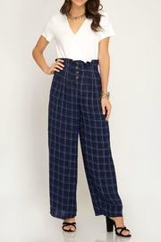 She + Sky Pleated Waist Pants - Product Mini Image