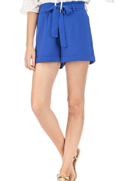Jade Pleated Waist Shorts - Product List Image