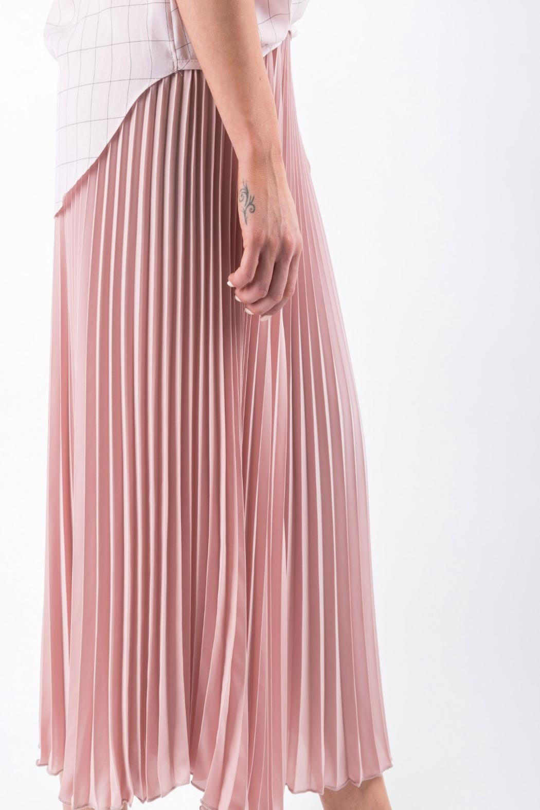 Yuki Tokyo Pleated Wide Culottes - Front Full Image