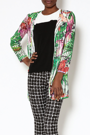 Pleats Collection Colorful Mesh Jacket - Product Mini Image