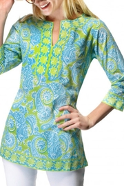 Gretchen Scott Plentiful Paisley Tunic - Product Mini Image