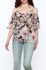 Plenty by Tracy Reese Pink Floral Blouse - Product Mini Image