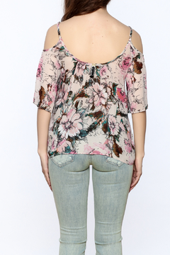 Plenty by Tracy Reese Pink Floral Blouse - Alternate List Image