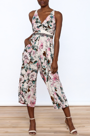 Plenty by Tracy Reese Floral Midi Jumpsuit - Product Mini Image