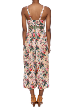 Plenty by Tracy Reese Peach Floral Jumpsuit - Alternate List Image