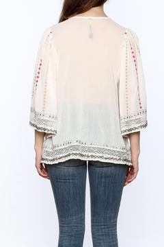 Plenty by Tracy Reese Beige Peasant Blouse - Alternate List Image